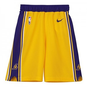 Los Angeles Lakers Nike Icon Replica Short - Kids