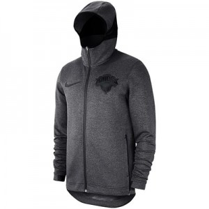 New York Knicks Nike Showtime Therma Flex Hoodie - Youth