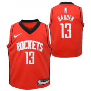 Nike Houston Rockets Nike Icon Replica Jersey - James Harden - Toddler Houston Rockets Nike Icon Replica Jersey - James Harden - Toddler