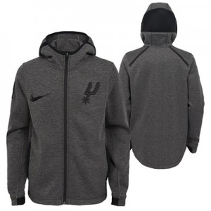 San Antonio Spurs Nike Showtime Therma Flex Hoodie - Youth