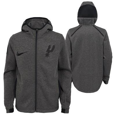 San Antonio Spurs Nike Showtime Therma Flex Hoodie - Youth