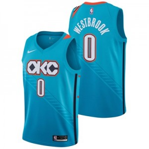 Nike Oklahoma City Thunder Nike City Edition Swingman Jersey - Russell Westbrook - Youth Oklahoma City Thunder Nike City Edition Swingman Jersey - Russell Westbrook - Youth