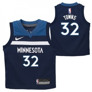 Nike Minnesota Timberwolves Nike Icon Replica Jersey - Karl-Anthony Towns - Toddler Minnesota Timberwolves Nike Icon Replica Jersey - Karl-Anthony Towns - Toddler