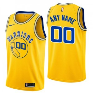 Nike Golden State Warriors Nike Hardwood Classics Edition Swingman Jersey - Custom - Youth 2019 Golden State Warriors Nike Hardwood Classics Edition Swingman Jersey - Custom - Youth 2019