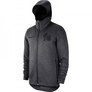 Philadelphia 76ers Nike Showtime Therma Flex Hoodie - Youth