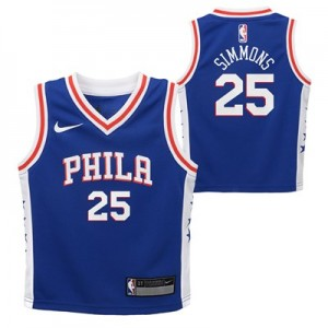 Nike Philadelphia 76ers Nike Icon Replica Jersey - Ben Simmons - Toddler Philadelphia 76ers Nike Icon Replica Jersey - Ben Simmons - Toddler