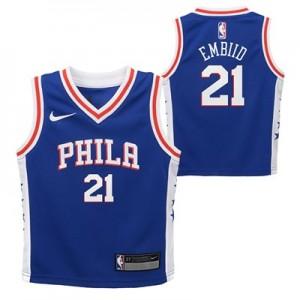 Nike Philadelphia 76ers Nike Icon Replica Jersey - Joel Embiid - Toddler Philadelphia 76ers Nike Icon Replica Jersey - Joel Embiid - Toddler