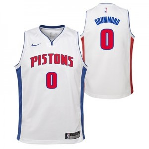 Nike Detroit Pistons Nike Association Swingman Jersey - Andre Drummond - Youth Detroit Pistons Nike Association Swingman Jersey - Andre Drummond - Youth