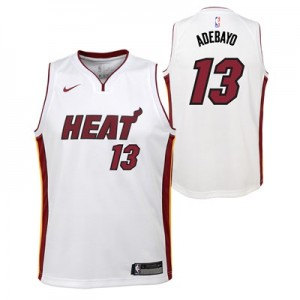 Nike Miami Heat Nike Association Swingman Jersey - Bam Adebayo - Youth Miami Heat Nike Association Swingman Jersey - Bam Adebayo - Youth