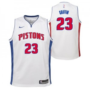 Nike Detroit Pistons Nike Association Swingman Jersey - Blake Griffin - Youth Detroit Pistons Nike Association Swingman Jersey - Blake Griffin - Youth