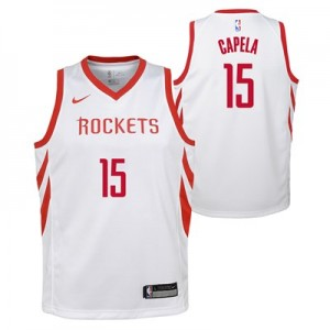 Nike Houston Rockets Nike Association Swingman Jersey - Clint Capela - Youth Houston Rockets Nike Association Swingman Jersey - Clint Capela - Youth