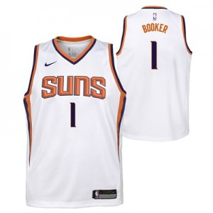 Nike Phoenix Suns Nike Association Swingman Jersey - Devin Booker - Youth Phoenix Suns Nike Association Swingman Jersey - Devin Booker - Youth