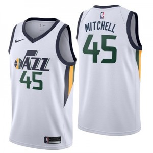 Nike Utah Jazz Nike Association Swingman Jersey - Donovan Mitchell - Mens Utah Jazz Nike Association Swingman Jersey - Donovan Mitchell - Mens