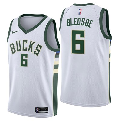 Nike Milwaukee Bucks Nike Association Swingman Jersey - Eric Bledsoe - Mens Milwaukee Bucks Nike Association Swingman Jersey - Eric Bledsoe - Mens