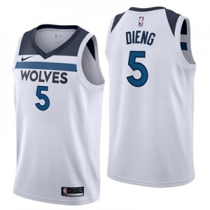 Nike Minnesota Timberwolves Nike Association Swingman Jersey - Gorgui Dieng - Mens Minnesota Timberwolves Nike Association Swingman Jersey - Gorgui Dieng - Mens