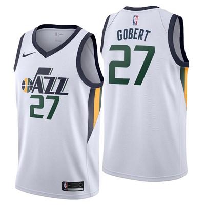 Nike Utah Jazz Nike Association Swingman Jersey - Rudy Gobert - Mens Utah Jazz Nike Association Swingman Jersey - Rudy Gobert - Mens