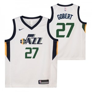 Nike Utah Jazz Nike Association Swingman Jersey - Rudy Gobert - Youth Utah Jazz Nike Association Swingman Jersey - Rudy Gobert - Youth