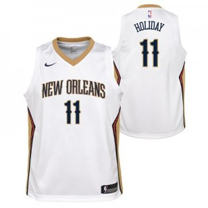 Nike New Orleans Pelicans Nike Association Swingman Jersey - Jrue Holiday - Youth New Orleans Pelicans Nike Association Swingman Jersey - Jrue Holiday - Youth