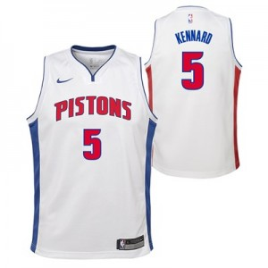 Nike Detroit Pistons Nike Association Swingman Jersey - Luke Kennard - Youth Detroit Pistons Nike Association Swingman Jersey - Luke Kennard - Youth