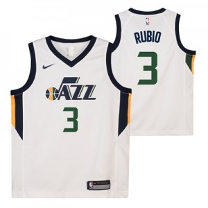 Nike Utah Jazz Nike Association Swingman Jersey - Ricky Rubio - Youth Utah Jazz Nike Association Swingman Jersey - Ricky Rubio - Youth