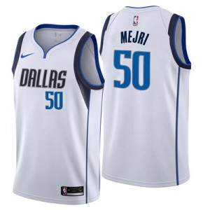 Nike Dallas Mavericks Nike Association Swingman Jersey - Salah Mejri - Mens Dallas Mavericks Nike Association Swingman Jersey - Salah Mejri - Mens