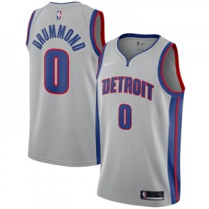 Nike Detroit Pistons Nike Statement Swingman Jersey - Andre Drummond - Mens Detroit Pistons Nike Statement Swingman Jersey - Andre Drummond - Mens
