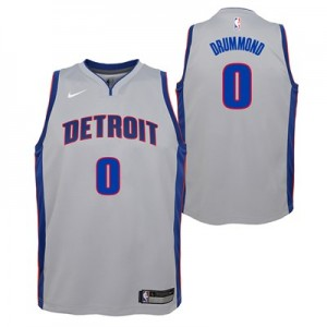 Nike Detroit Pistons Nike Statement Swingman Jersey - Andre Drummond - Youth Detroit Pistons Nike Statement Swingman Jersey - Andre Drummond - Youth