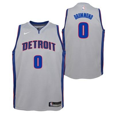 Nike Detroit Pistons Nike Statement Swingman Jersey - Andre Drummond - Youth Detroit Pistons Nike Statement Swingman Jersey - Andre Drummond - Youth