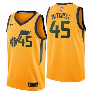 Nike Utah Jazz Nike Statement Swingman Jersey - Donovan Mitchell - Mens Utah Jazz Nike Statement Swingman Jersey - Donovan Mitchell - Mens