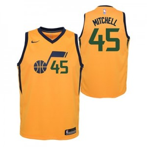 Nike Utah Jazz Nike Statement Swingman Jersey - Donovan Mitchell - Youth Utah Jazz Nike Statement Swingman Jersey - Donovan Mitchell - Youth