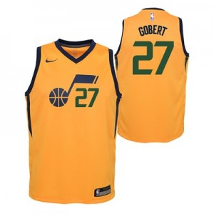 Nike Utah Jazz Nike Statement Swingman Jersey - Rudy Gobert - Youth Utah Jazz Nike Statement Swingman Jersey - Rudy Gobert - Youth