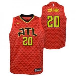 Nike Atlanta Hawks Nike Statement Swingman Jersey - John Collins - Youth Atlanta Hawks Nike Statement Swingman Jersey - John Collins - Youth