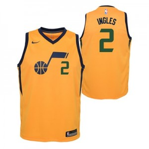 Nike Utah Jazz Nike Statement Swingman Jersey - Joe Ingles - Youth Utah Jazz Nike Statement Swingman Jersey - Joe Ingles - Youth
