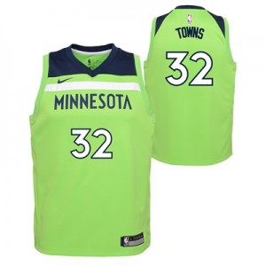 Nike Minnesota Timberwolves Nike Statement Swingman Jersey - Karl-Anthony Towns - Youth Minnesota Timberwolves Nike Statement Swingman Jersey - Karl-Anthony Towns - Youth