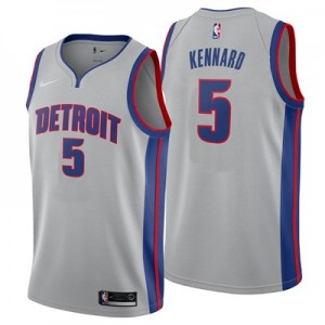 Nike Detroit Pistons Nike Statement Swingman Jersey - Luke Kennard - Mens Detroit Pistons Nike Statement Swingman Jersey - Luke Kennard - Mens