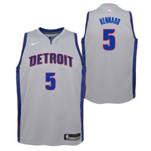 Nike Detroit Pistons Nike Statement Swingman Jersey - Luke Kennard - Youth Detroit Pistons Nike Statement Swingman Jersey - Luke Kennard - Youth