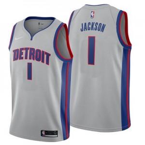 Nike Detroit Pistons Nike Statement Swingman Jersey - Reggie Jackson - Mens Detroit Pistons Nike Statement Swingman Jersey - Reggie Jackson - Mens
