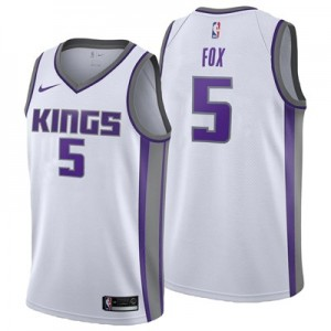 Nike Sacramento Kings Nike Association Swingman Jersey - DeAaron Fox - Mens Sacramento Kings Nike Association Swingman Jersey - DeAaron Fox - Mens