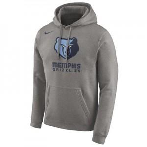 Memphis Grizzlies Nike Essential Logo Hoodie - Mens