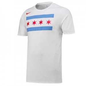 Chicago Bulls Nike City Edition T-Shirt - Mens