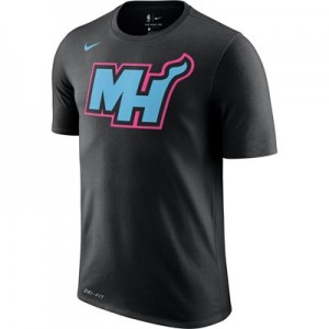 Miami Heat Nike City Edition T-Shirt - Mens