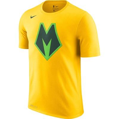 Milwaukee Bucks Nike City Edition T-Shirt - Mens