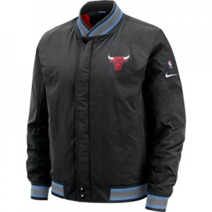 Chicago Bulls Nike City Edition Courtside Jacket - Mens