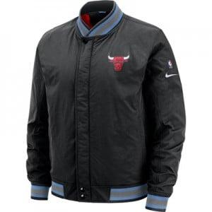 Chicago Bulls Nike City Edition Courtside Jacket - Mens
