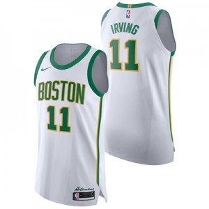 Nike Boston Celtics Nike City Edition Authentic Jersey - Kyrie Irving - Mens Boston Celtics Nike City Edition Authentic Jersey - Kyrie Irving - Mens