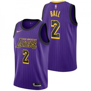Nike Los Angeles Lakers Nike City Edition Swingman Jersey - Lonzo Ball - Mens Los Angeles Lakers Nike City Edition Swingman Jersey - Lonzo Ball - Mens