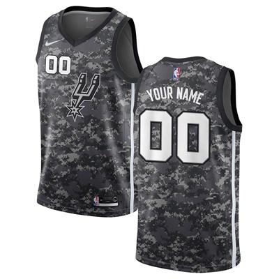 Nike San Antonio Spurs Nike City Edition Swingman Jersey - Custom - Mens San Antonio Spurs Nike City Edition Swingman Jersey - Custom - Mens