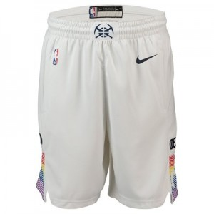 Denver Nuggets Nike City Edition Swingman Short - Mens