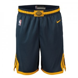Golden State Warriors Nike City Edition Swingman Short - Mens