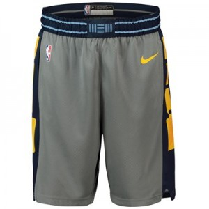 Memphis Grizzlies Nike City Edition Swingman Short - Mens